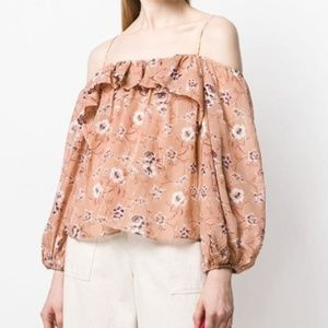 Ulla Johnson Coline Blouse in Size 2